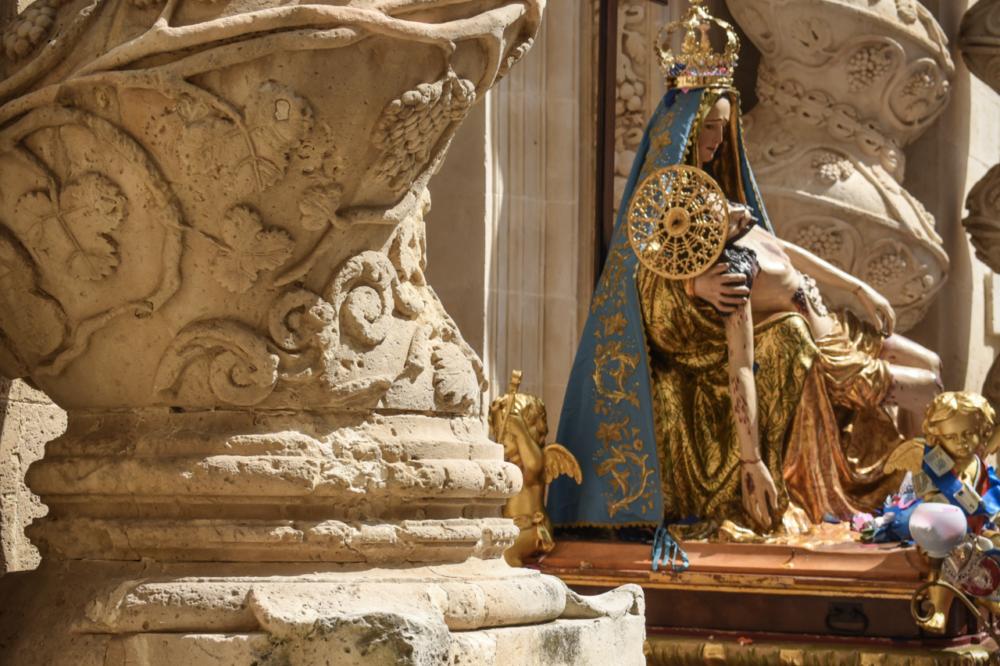 De Chiesa dell'Annunziata in Palazzolo Acreide op Sicilië