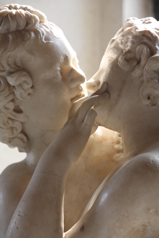 Amor en Psyche in de Capitolijnse Musea in Rome