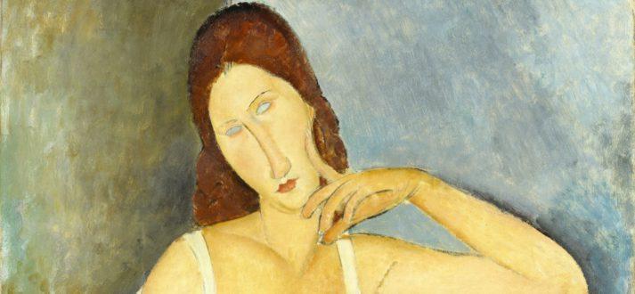 Italiaanse kunst: Amedeo Modigliani, Jeanne Hébuterne, 1919