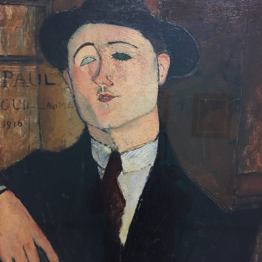 Ritratto di Paul Guillaume, door Amedeo Modigliani
