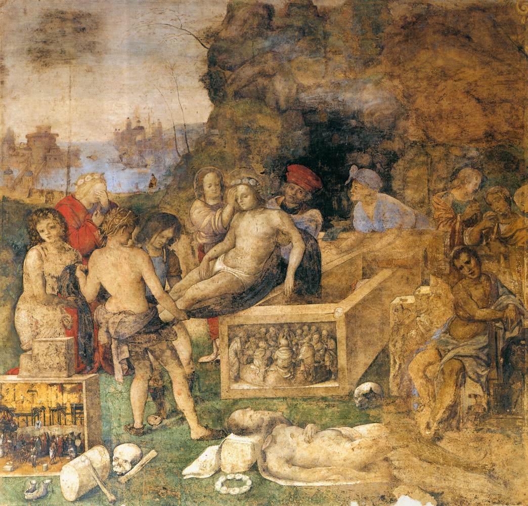 Het Oratorio di Santa Cecilia in Bologna - fresco 6