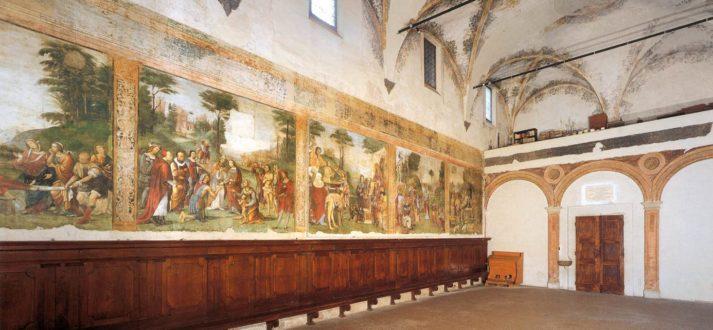 Het Oratorio di Santa Cecilia in Bologna