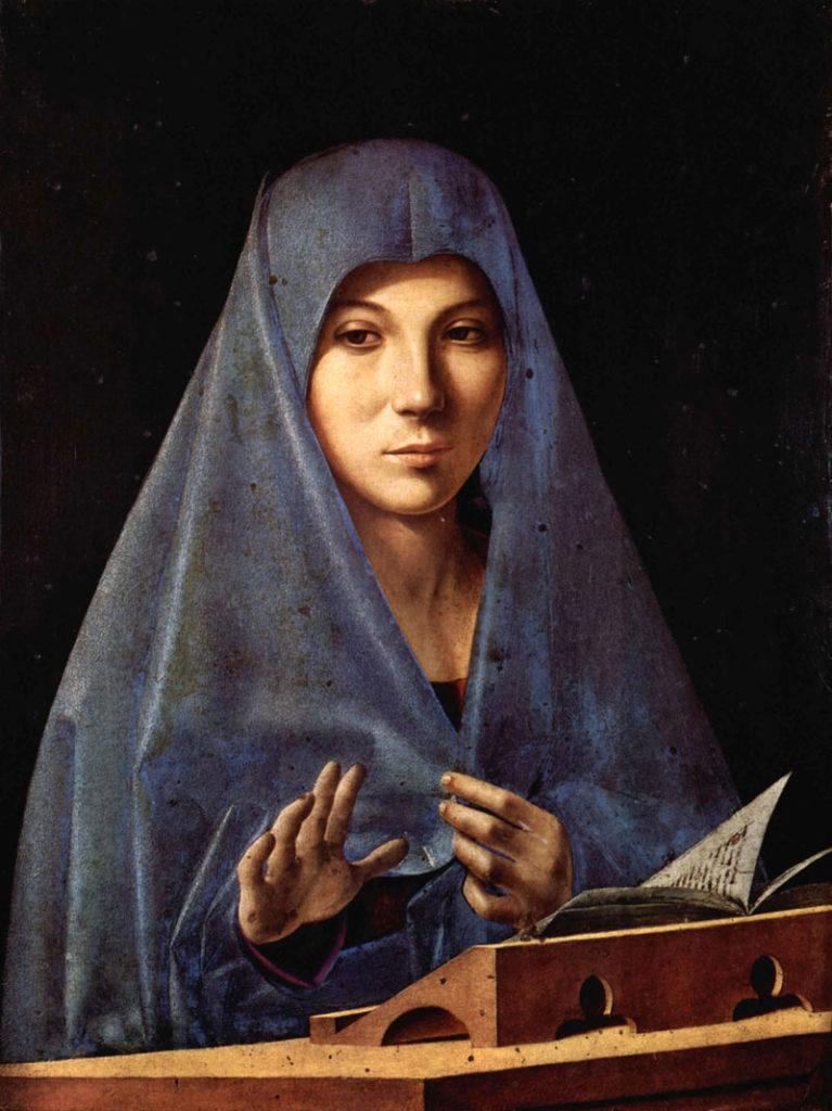 Antonello da Messina - Annunciata