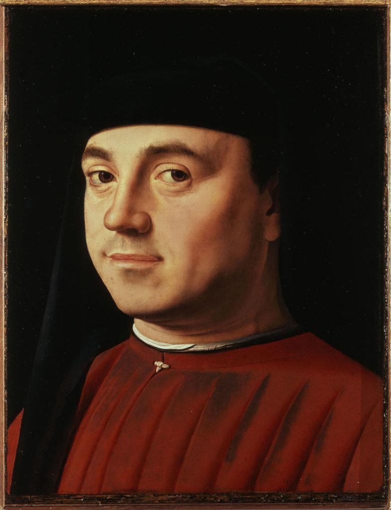 Antonello da Messina - Ritratto d'uomo (Michele Vianello?)