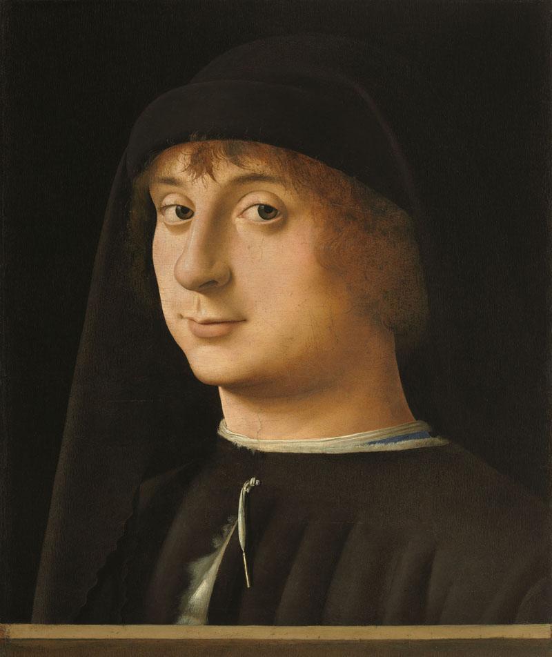 Antonello da Messina - Ritratto di giovane