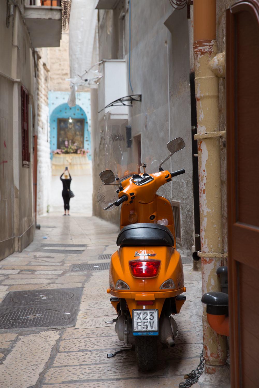In de straatjes van Bari Vecchia