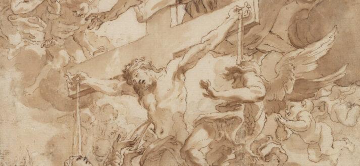 Allegorie op het Heilig Bloed van Christus (detail)