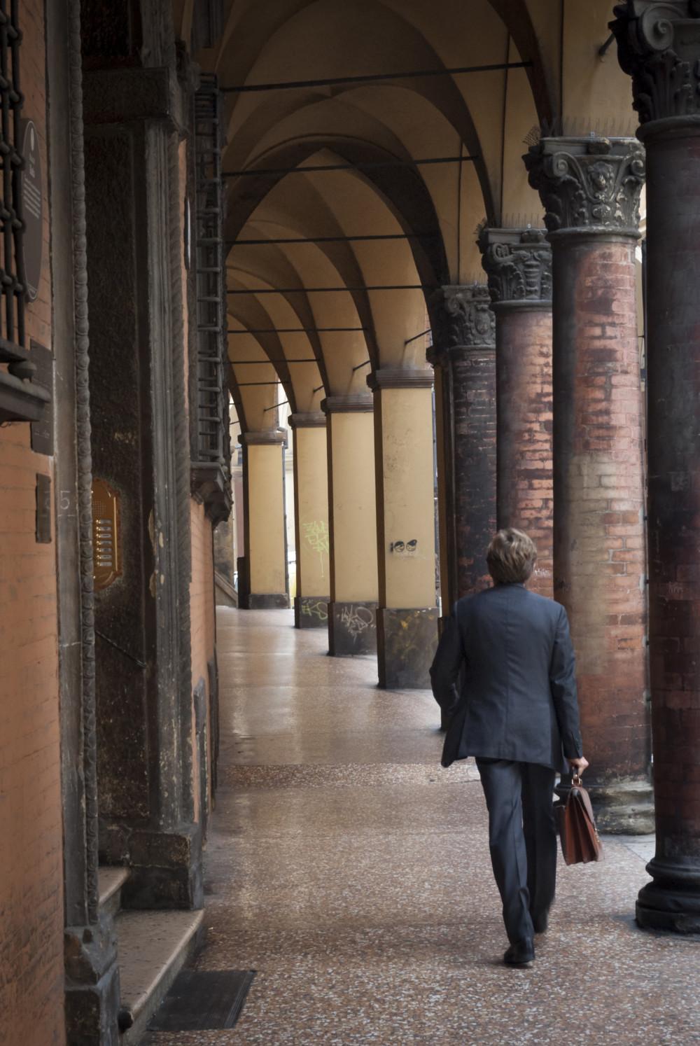 De zuilengalerijen van Bologna