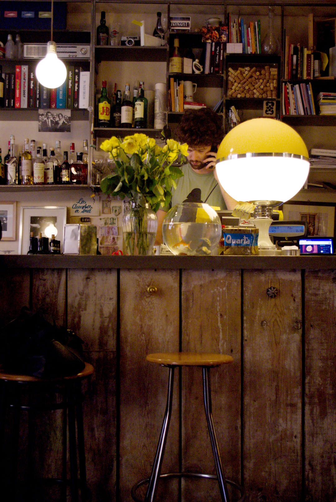 Iets drinken en eten in Bologna - Camera a Sud