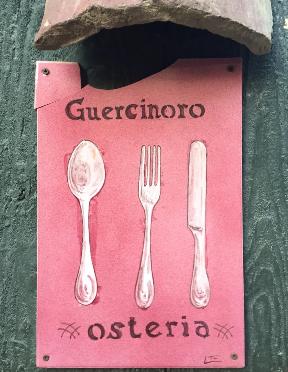 Osteria del Guercinoro in Brisighella, Emilia-Romagna