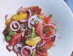 Salade van bottarga en citrusvruchten - Carlucci