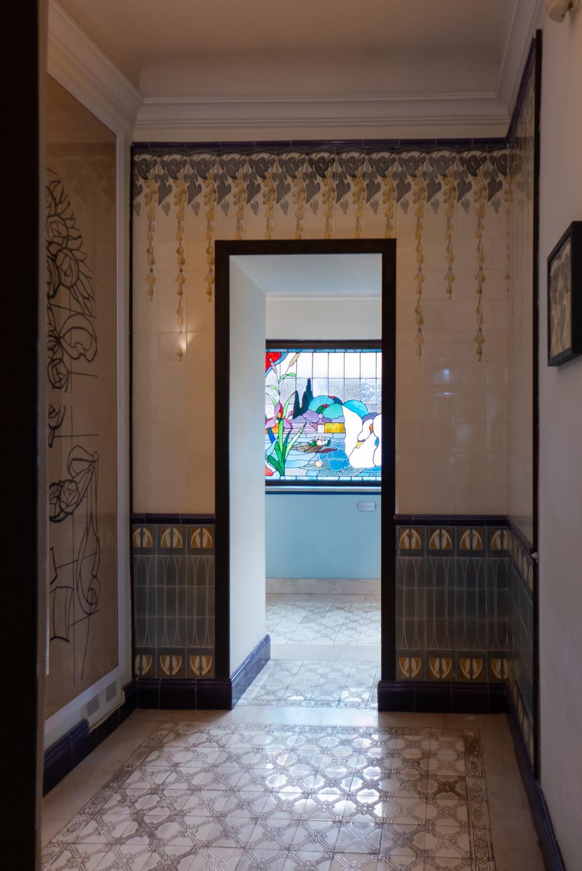 De gastenbadkamer