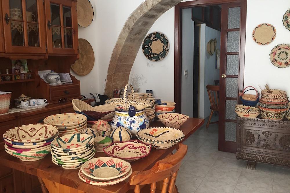Bij Maddalena thuis, in Castelsardo