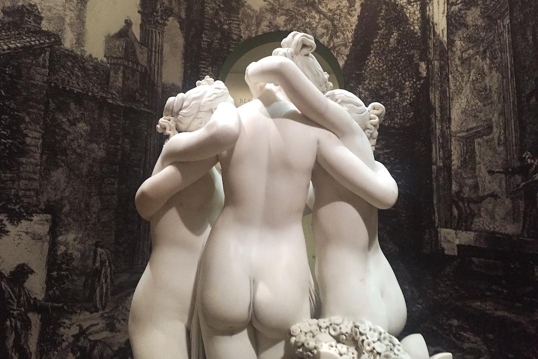 Antonio Canova - De Drie Gratiën - in de Hermitage Amsterdam