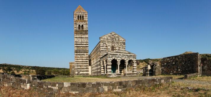 Romaanse kerken op Sardinië - de Santissima Trinità di Saccargia