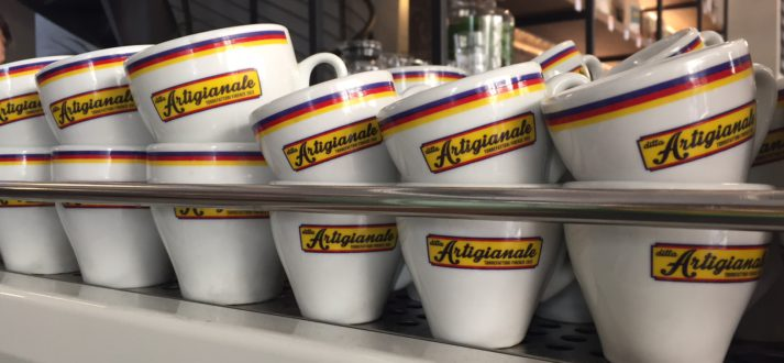 Koffiezaak Ditta Artigianale in de wijk Oltrarno in Florence