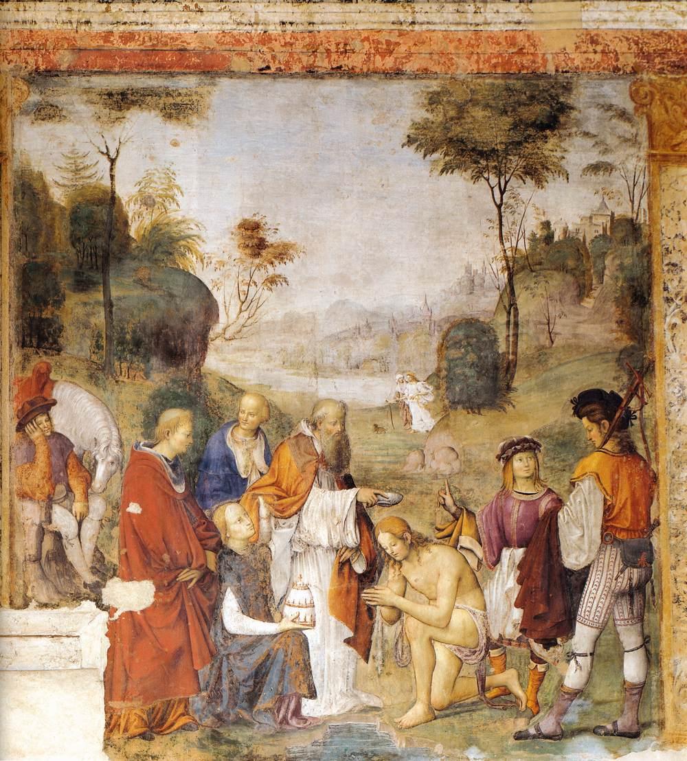 Het Oratorio di Santa Cecilia in Bologna - fresco 3