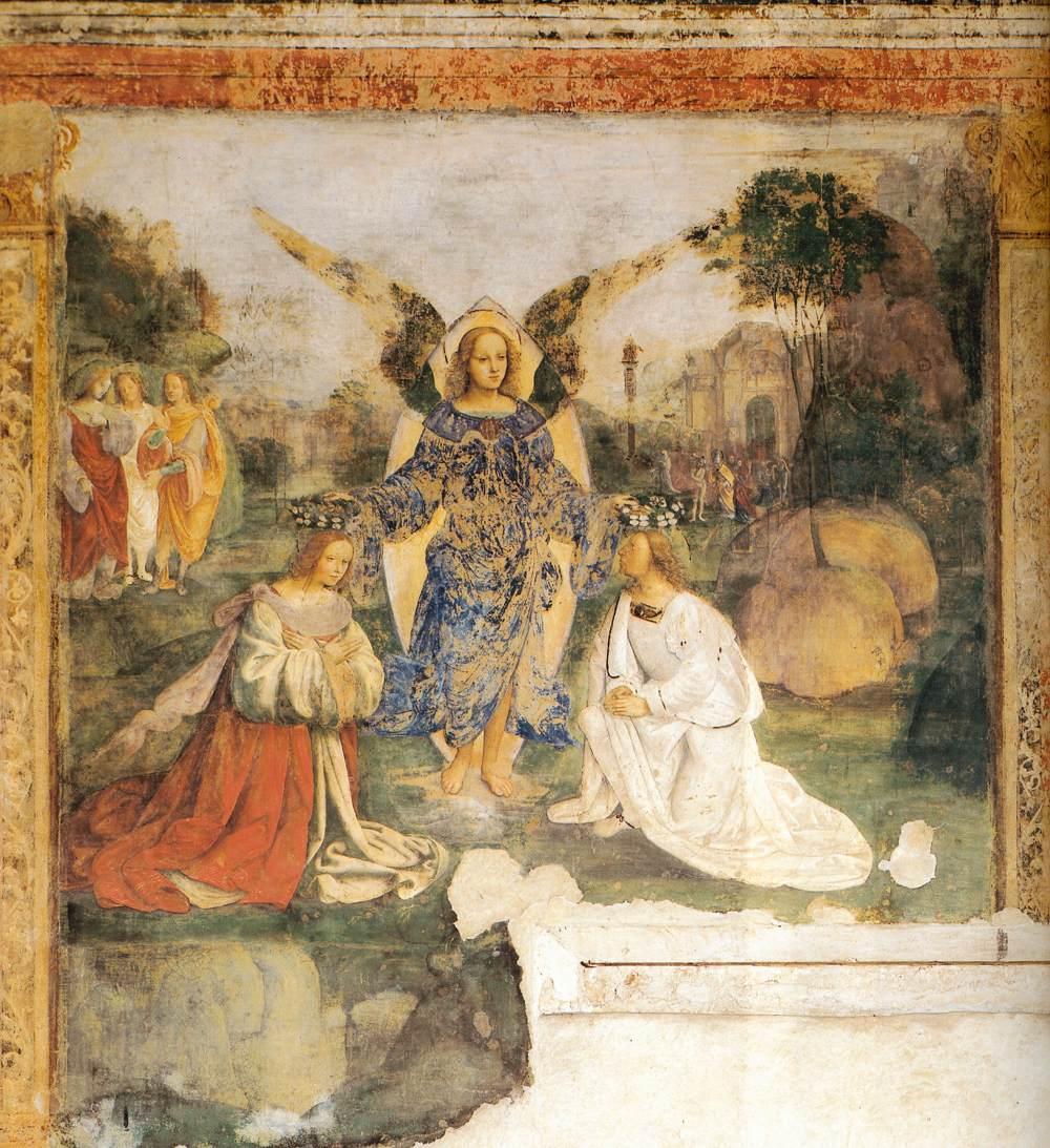 Het Oratorio di Santa Cecilia in Bologna - fresco 4