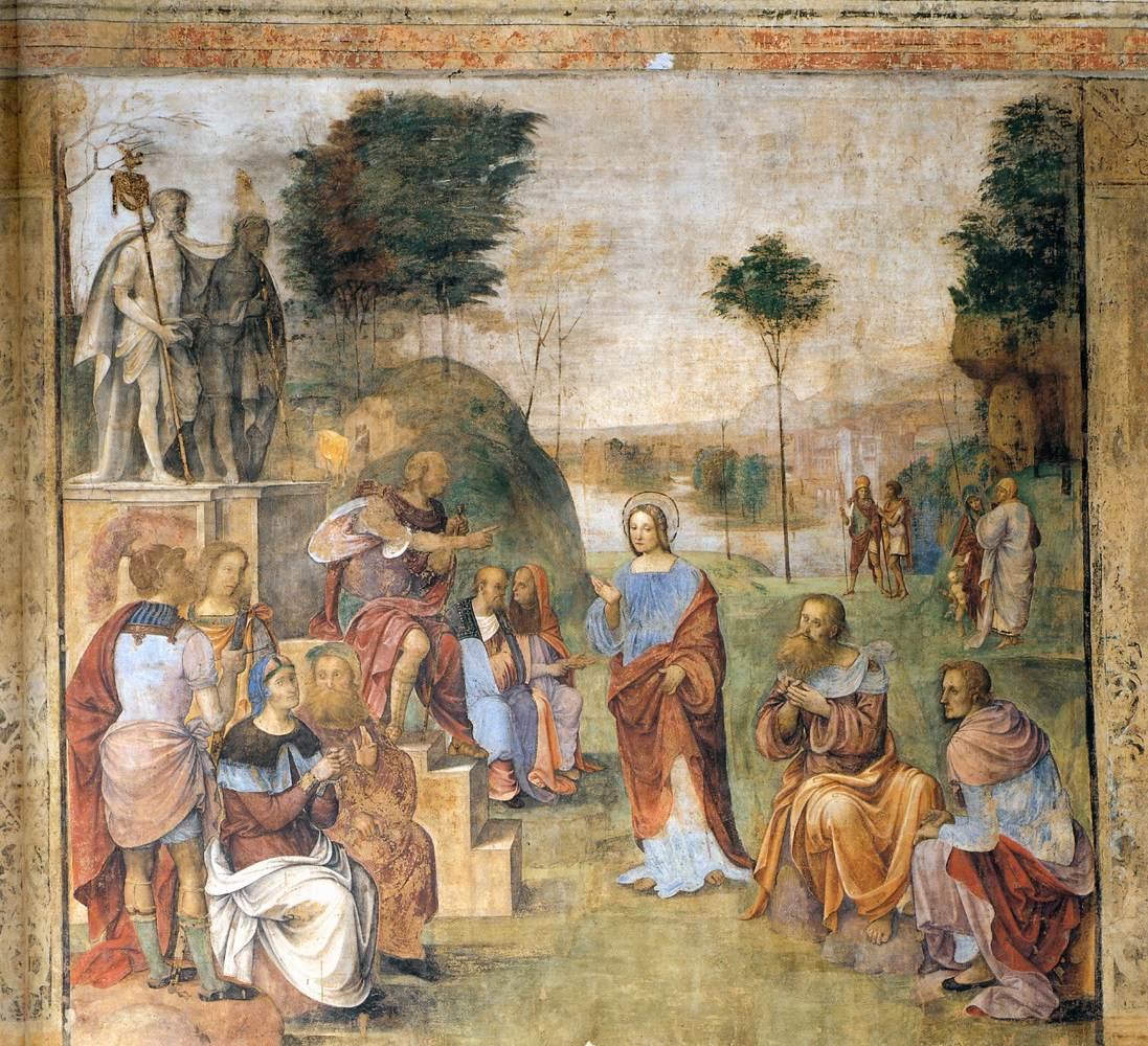Het Oratorio di Santa Cecilia in Bologna - fresco 7