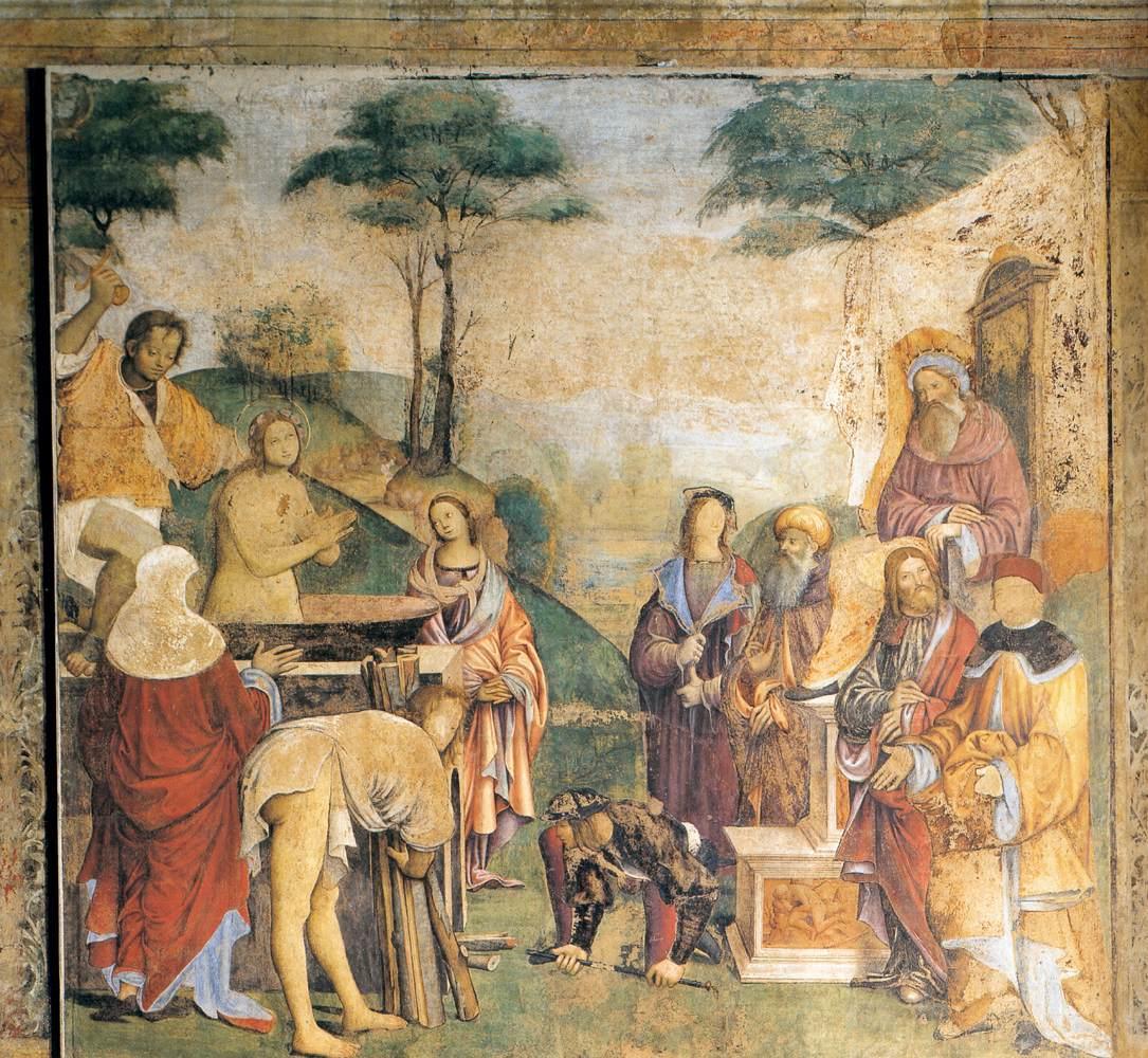 Het Oratorio di Santa Cecilia in Bologna - fresco 8