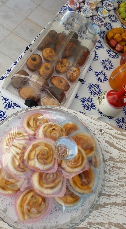 Ontbijt bij Punta Cutieri in Gallipoli