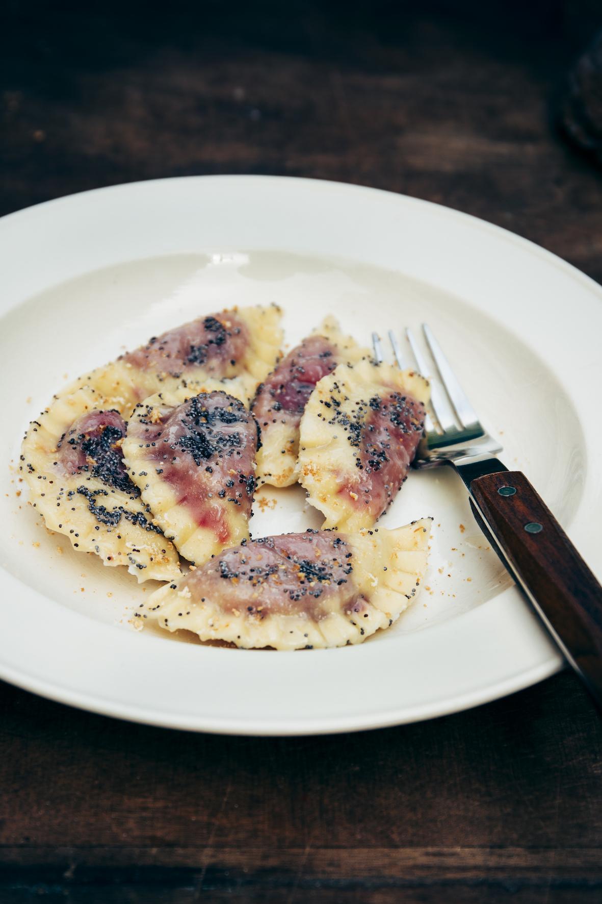 Italiaanse recept - casunziei - gevulde pasta