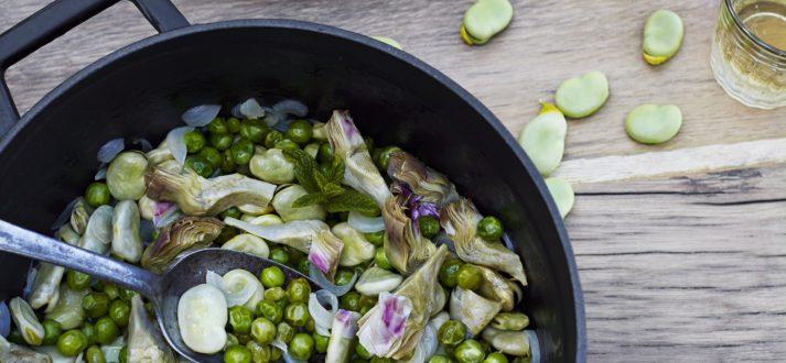 Recept voor het voorjaar - vignarola