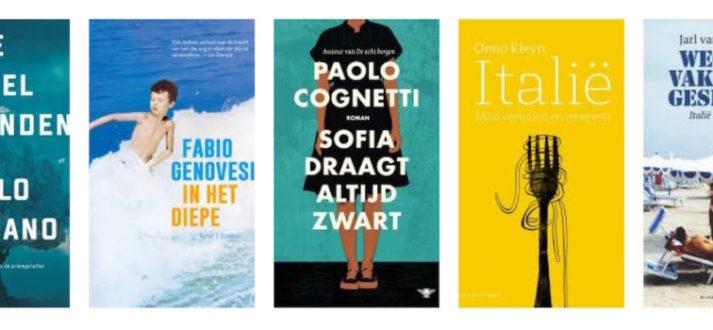 Italiaanse boeken voor de zomer