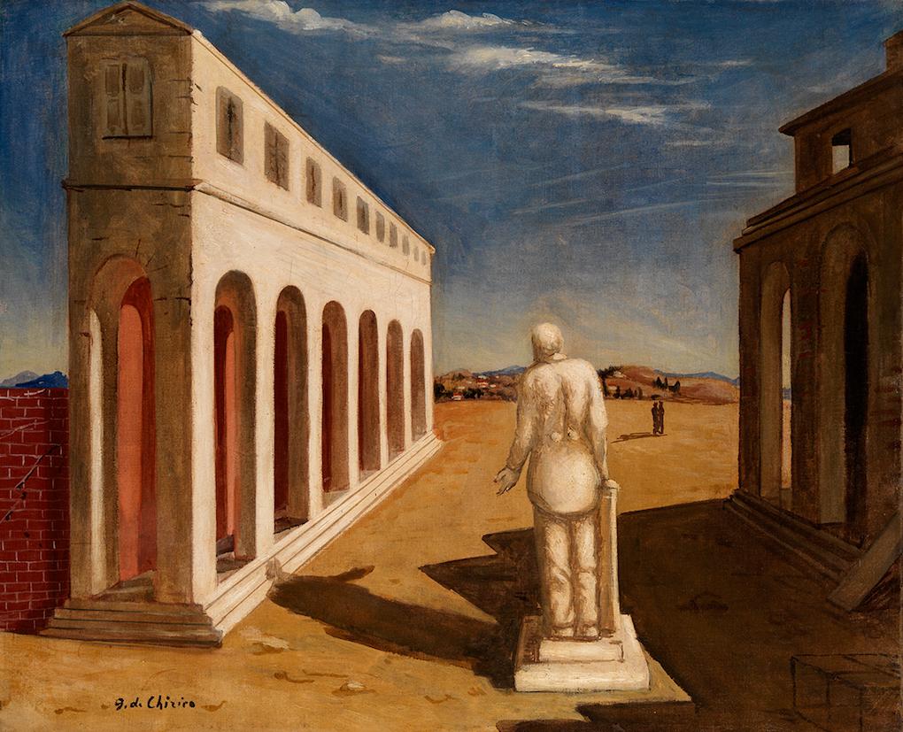 Italiaanse kunst op de agenda in 2019 - Giorgio de Chirico