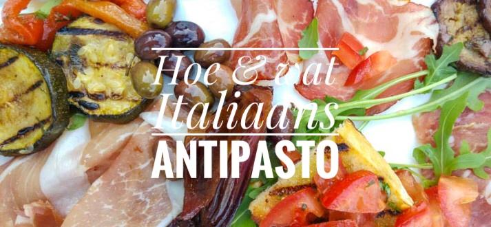 Italiaanse taal: antipasto