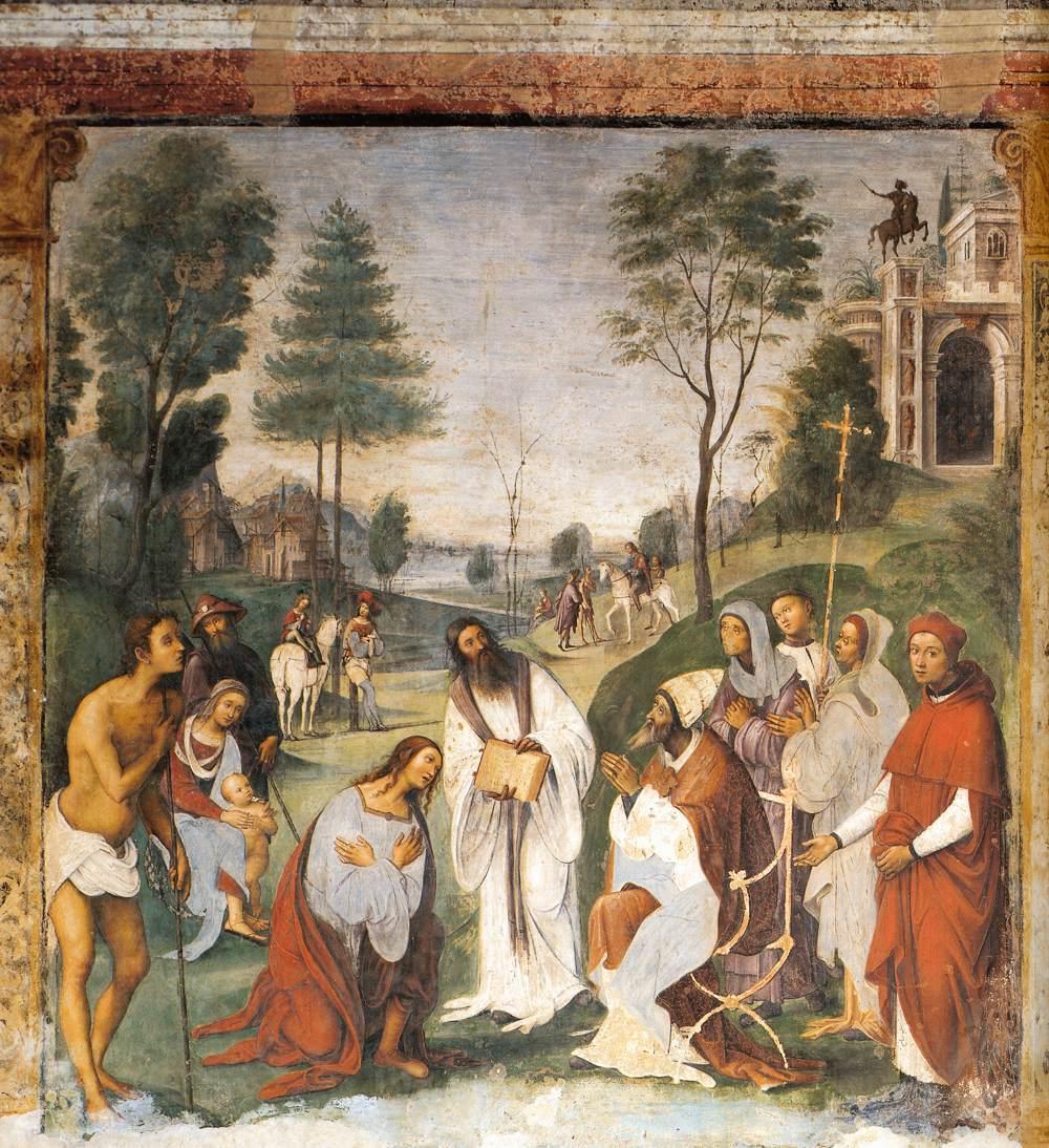 Het Oratorio di Santa Cecilia in Bologna - fresco 2