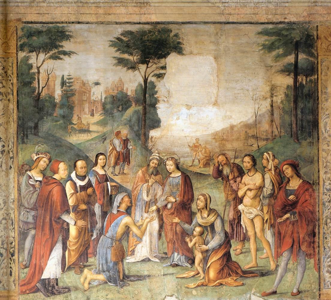 Het Oratorio di Santa Cecilia in Bologna - fresco 9