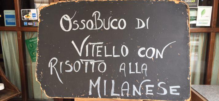 Dit eet je in Milaan: ossobuco con risotto alla milanese