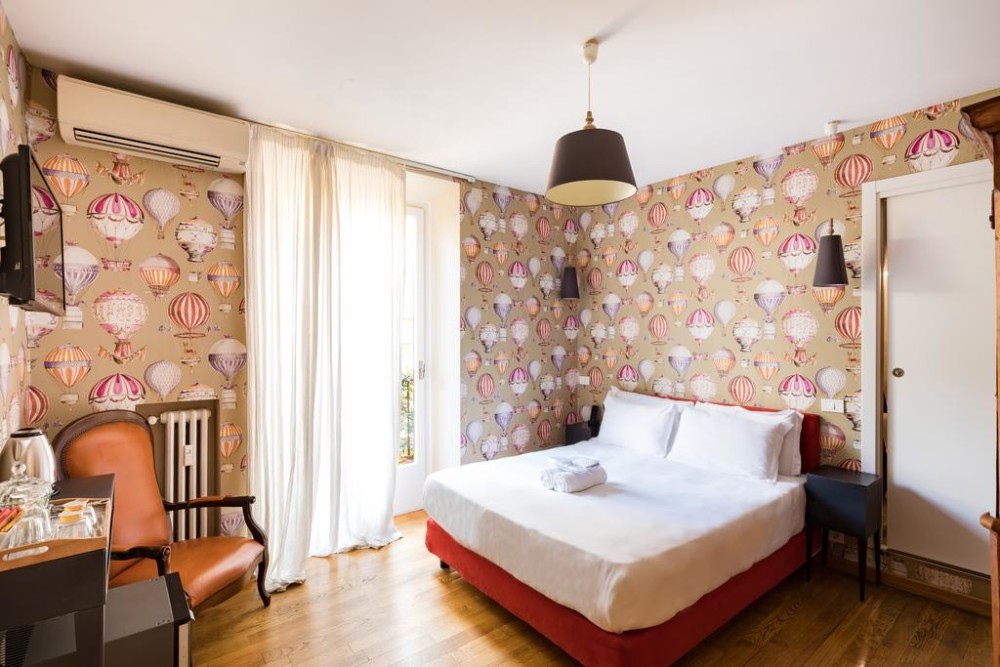 Boutique hotels in de wijk Monti in Rome - Salotto Monti