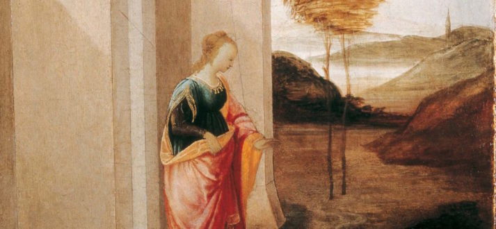 Filippino Lippi, in het Museo Horne in Florence