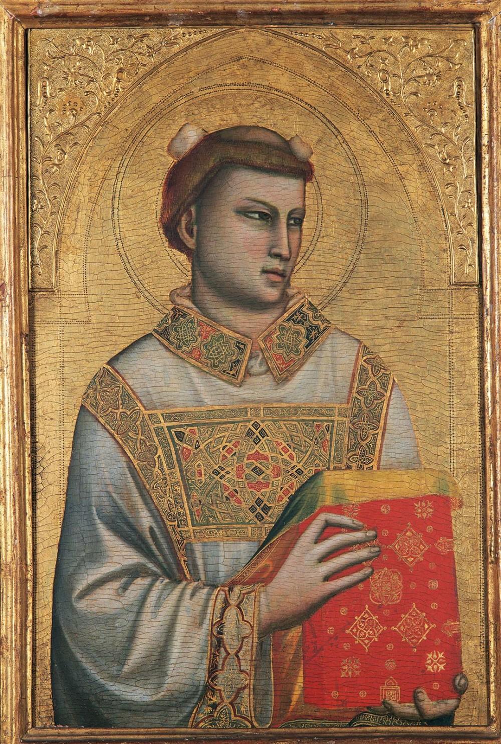 Santo Stefano van Giotto in het Museo Horne in Florence