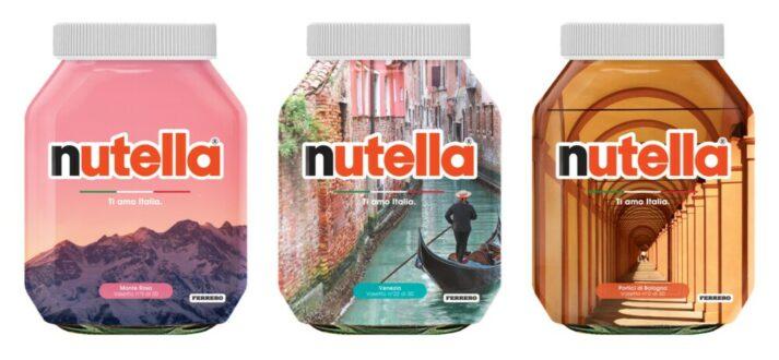 Nutella - de serie Ti amo Italia