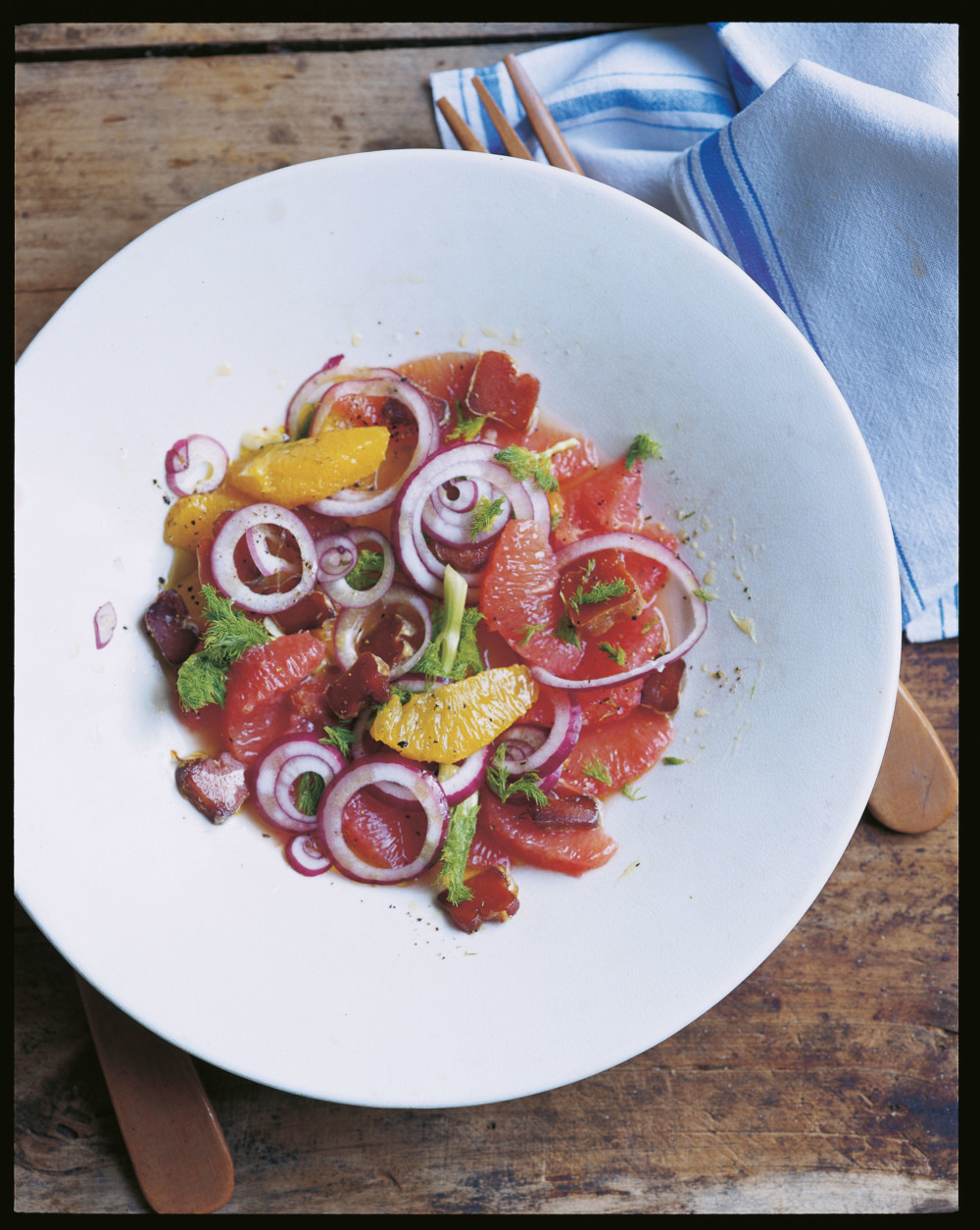 Salade van bottarga en citrusvruchten - Antonio Carlucci