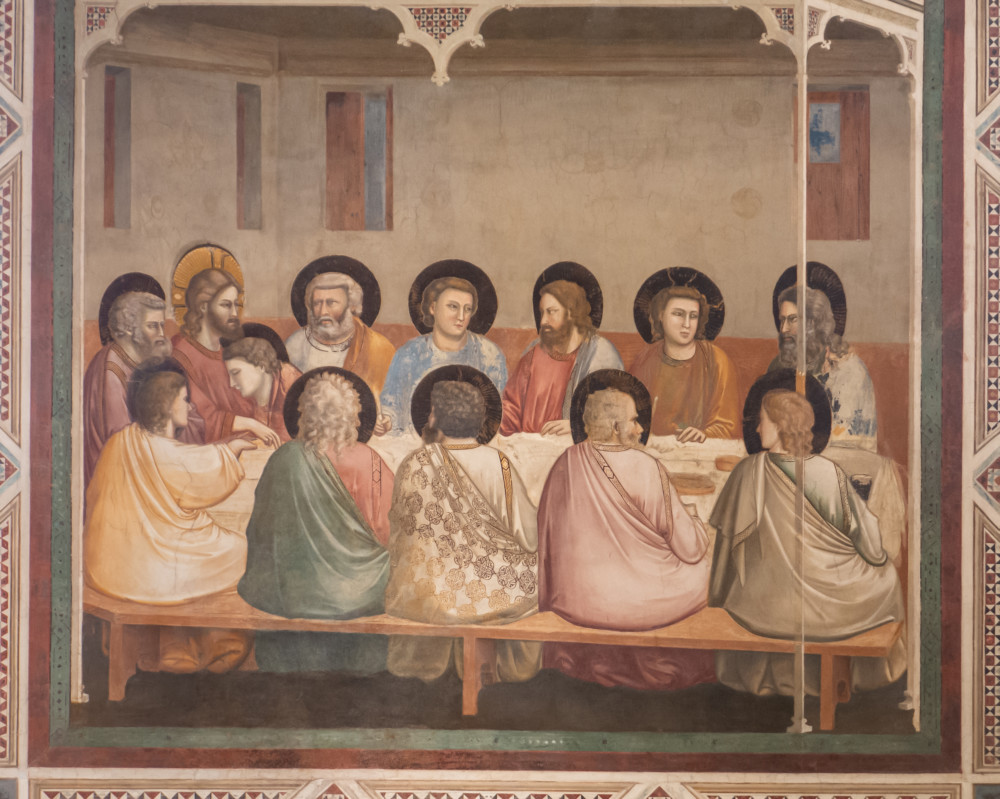Het Laatste Avondmaal, Cappella degli Scrovegni
