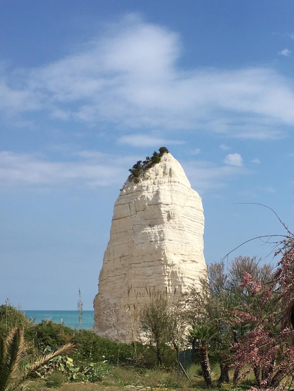 Pizzomunno bij Vieste, Puglia