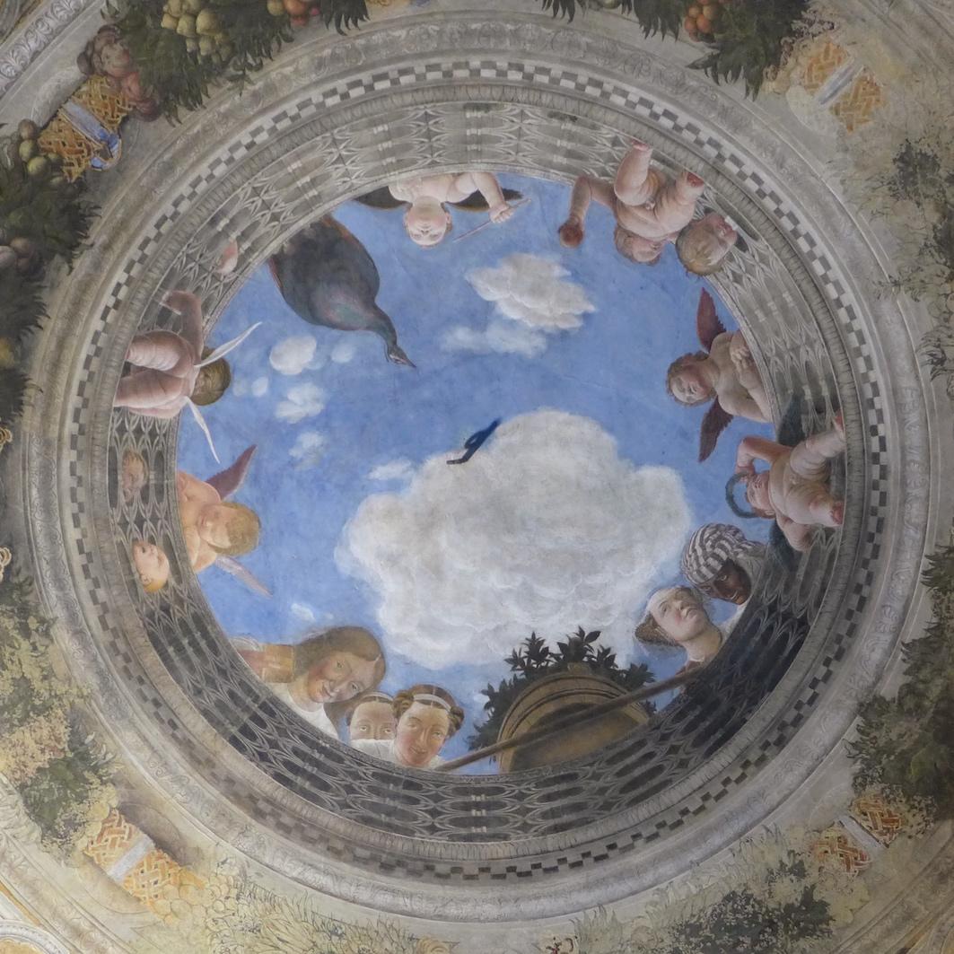 Plafonds van Mantova - de Camera degli Sposi
