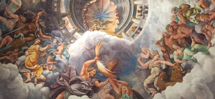 Plafonds van Mantova - de Sala dei Giganti