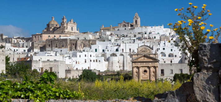 Ostuni, de witte stad van Puglia