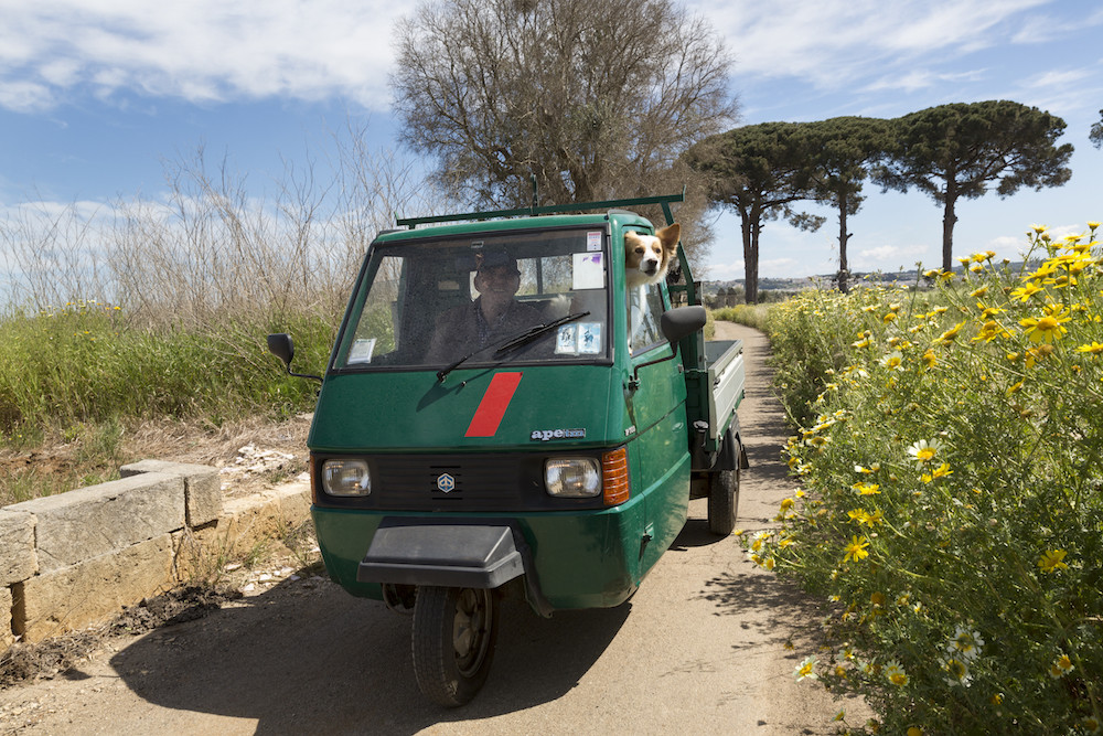 Een ritje met de Ape in de Salento, Puglia