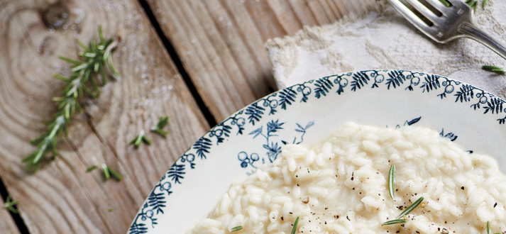 Italiaans recept: risotto op z'n Piemontees