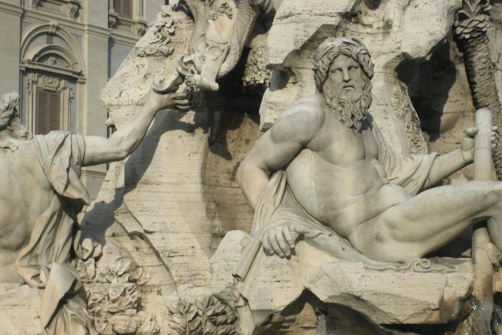 Lezen over Rome: de Vierstromenfontein van Bernini