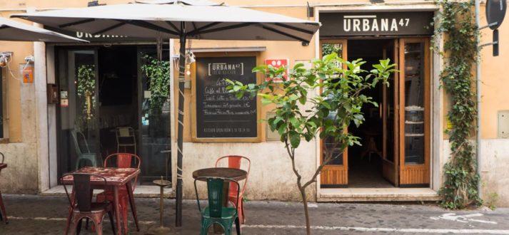 Restaurant Urbana 47 in de wijk Monti in Rome