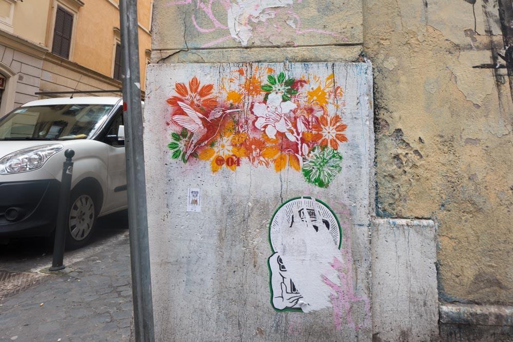 De wijk Monti in Rome
