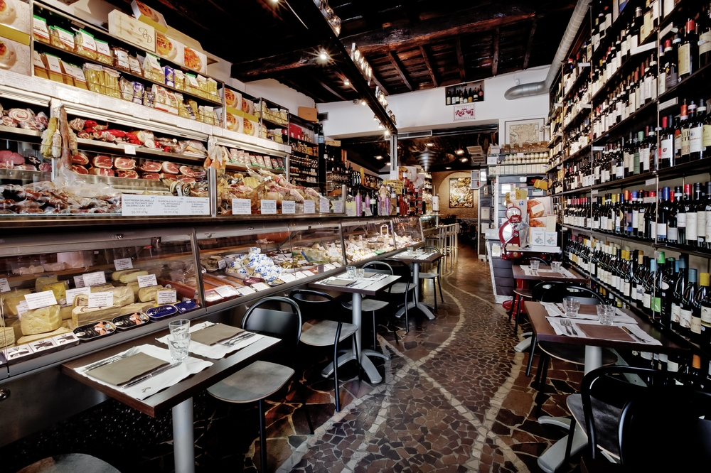 Restaurants in Rome: Salumeria Roscioli