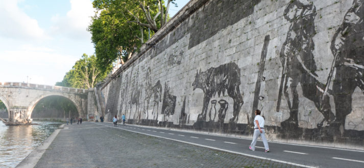 Triumphs and Laments van William Kentridge in Rome